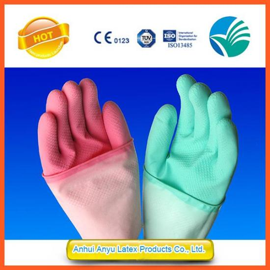 Kitchen Cleaning Household Rubber Gloves